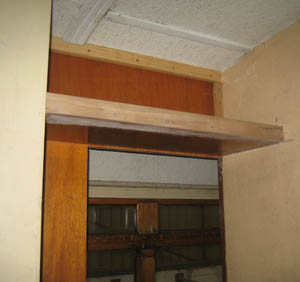 partition shelf